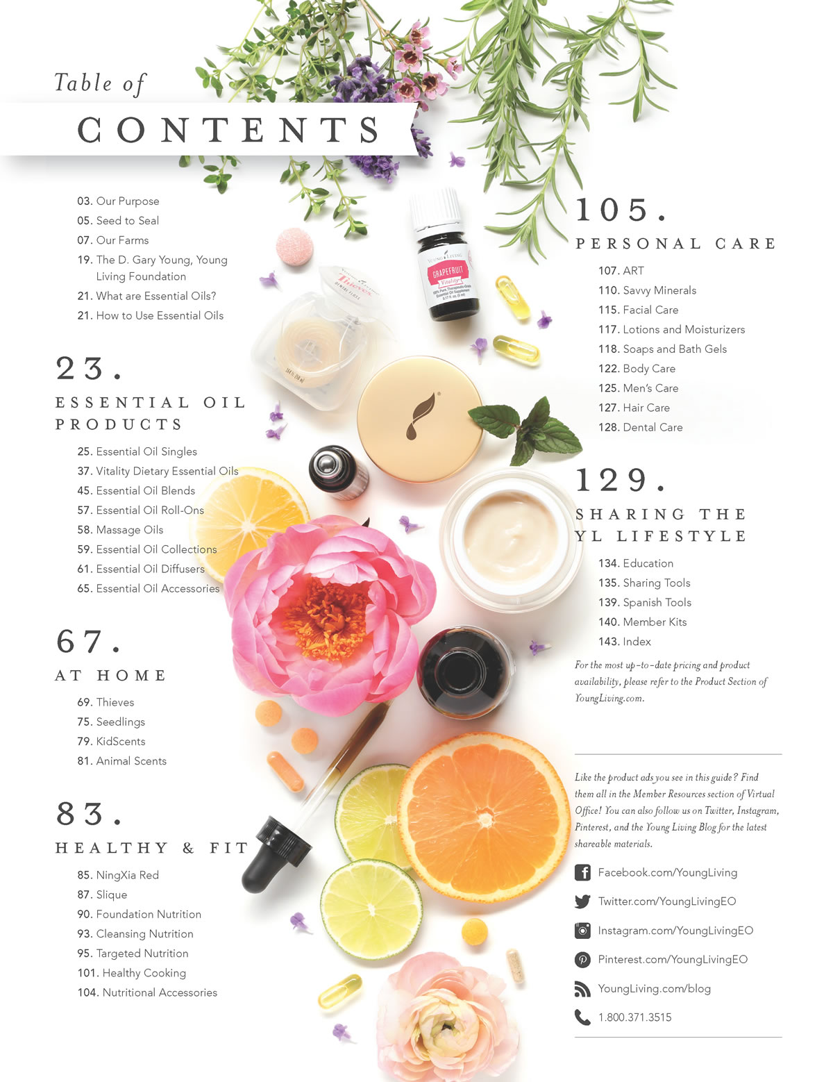 young living essential oils singles
